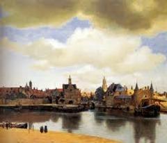 Vermeer vista di Delft