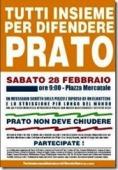 Manifestazione a Prato  Febbraio 2009