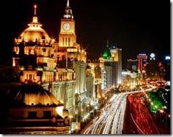 Shangai di notte
