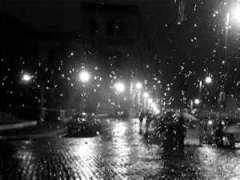 notte di pioggia a Parigi