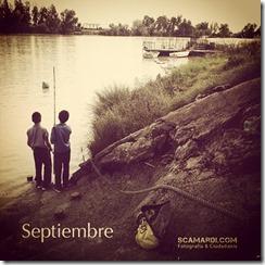 En Septiembre cosecha y no siembres. Septiembre es frutero, alegre y festero.