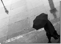 pioggia a Londra