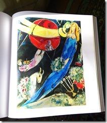 Il mondo rosso e nero_Chagall1951