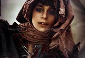 a bedouin girl