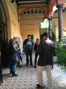 studenti americani al Pumarejo