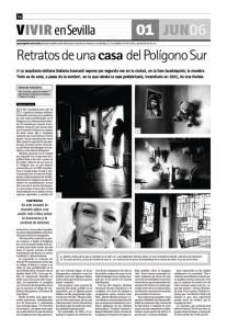 Diario de Sevilla- Stefania Scamardi Todo es de color a pesar de la sombra 200o6