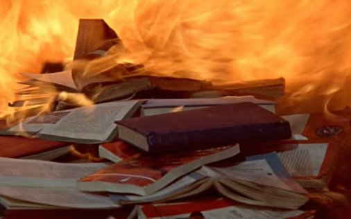 books fire