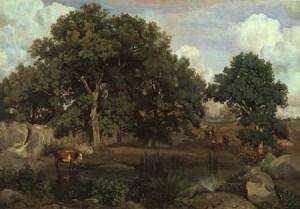 corot152-foresta di fontainebleau