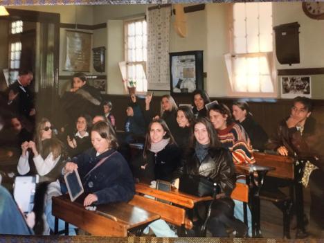 Beamish Museum-Lezione in classe