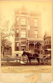 House in Chicago 1880