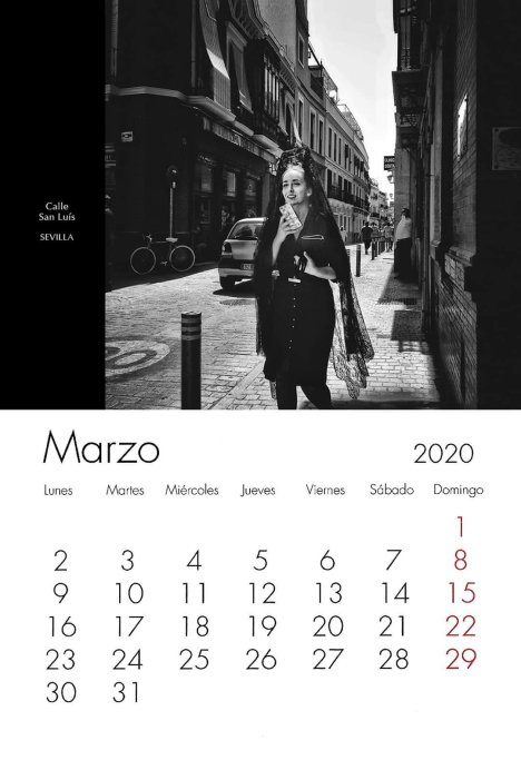 Calendario Marzo Scamardistudio