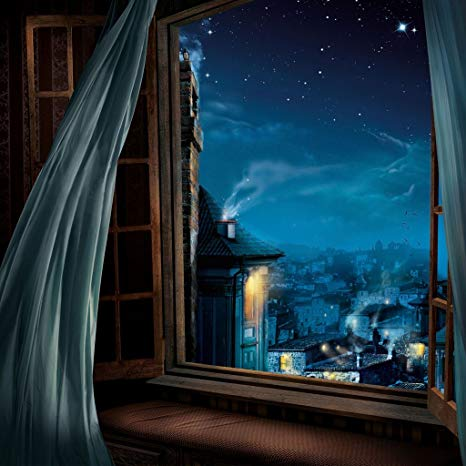 Zunion-finestra sul buio stellato