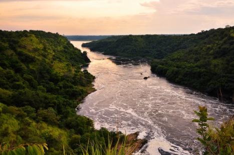 Evening Nile River Uganda