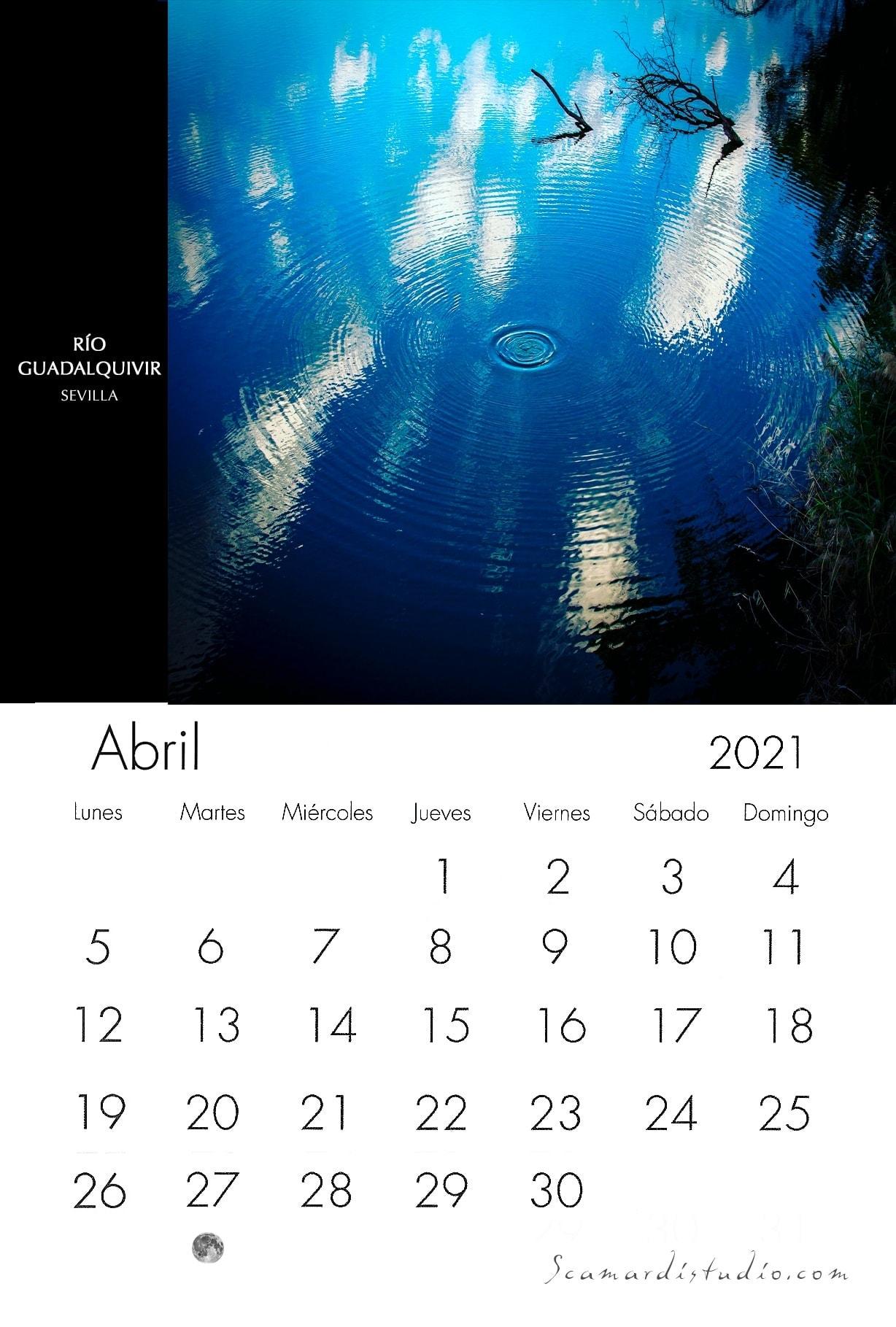 Aprile Callendario 2021